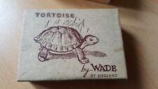 RARE WADE PORCELAIN GREEN TORTOISE IN ORIGINAL BOX VGC