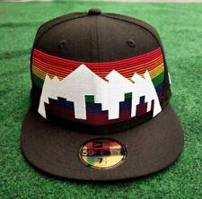 New Era NBA City Series Edition Black Denver Nuggets Snapback Hat