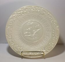 Belleek 1972 Edition Flight Of Earls China Christmas Plate Ireland Ivory Dish