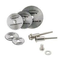 Circular Saw Disc Set Accessory Mini Drill Rotary Tool Wood Cutting Blade Set