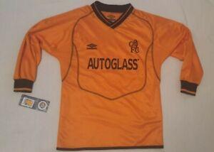 Chelsea 2000 01 Umbro Goalkeeper Football Shirt - 134 cms BNWT RARE HOLY GRAIL