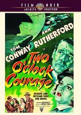 TWO O' CLOCK COURAGE (1945 Tom Conway) -  Region Free DVD - Sealed