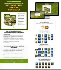 Das eigene Essen anbauen - eBook, Listenaufbau,  PLR Lizenz Komplettpaket