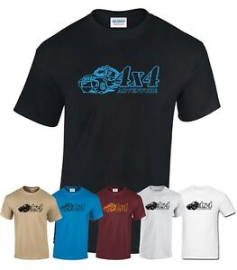 4x4 Adventure - jeep off road sport travel funny t-shirt gift