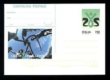 ITALIA REP. - Cart. post. - 1993 - Giochi della gioventù - 700 L. - Ragazzi e l