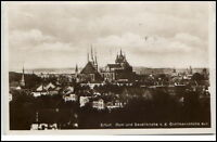 ERFURT 1932 Thüringen Dom Severi-Kirche v.d. Gröllmannshöhe aus gesehen alte AK