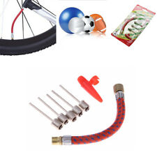 Inflating Needle Kits Bike Tire Tube Pump Hose Adapter Ball Cycling Accessories~