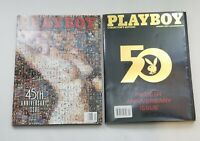 VINTAGE 1999 2004 PLAYBOY MAGAZINE LOT  45TH/50TH ANNIVERSARY COLLECTOR'S...