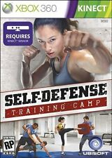 Self Defense Training Camp XBOX 360 KINECT NEW! MARTIAL ARTS WORKOUT, KICKBOXING