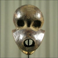 59173) Afrikanische Ibibio Holz Maske Nigeria Afrika KUNST