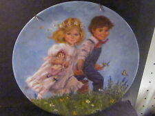 Reco 1979 McClelland Mother Goose Series Jack And Jill Ltd Ed Plate Mib w/ Cert
