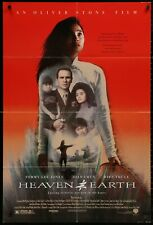 HEAVEN EARTH Joan Chen Tommy Lee Jones ORIG 1993 1 SHEET MOVIE POSTER 27 x 41