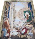 "Vladimir Stroozer windows of the world Wall Art Tapestry 54"" X 80"" Italy Venice"