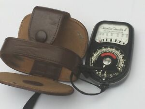Sangamo Weston Master II  Universal Exposure Meter Not Tested