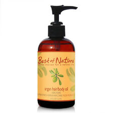 Best of Nature 100% Pure Argan Skin & Hair Oil - 8 Ounce Pump Bottle