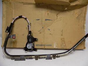 New OEM 1990-1993 Ford Festiva Front Seatbelt Seat Belt Track Assembly Left Side