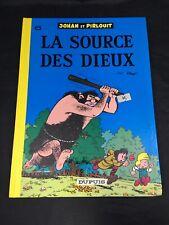 Johan Et Pirlouit La Source Des Dieux French Language Graphic Novel  1976