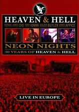 NEW Neon Nights: 30 Years of Heaven & Hell- Live in Europe (DVD)