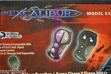 EXCAL-500 Excalibur Deluxe Remote Keyless Entry & Alarm System by Omega