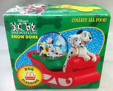 McDonald's Disney 101 Dalmatians Snow Dome - Unopened (Dog Sledding)