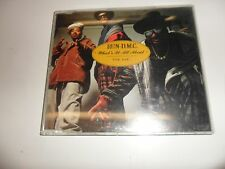 Cd  What's it all about (3 versions)/The ave. von Run DMC - Single