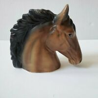 Vintage Horse Head Ceramic Vase Planter Made in Japan