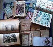 lotto/sotck 23 libri antichi