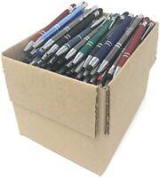 Bulk Lot - 5 LBS. Misprint Metal Retractable Pens - (Approx. 120 Pens)