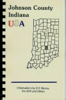 Johnson County Indiana Historic Sketch Banta 1881 Franklin College Edinburg IN