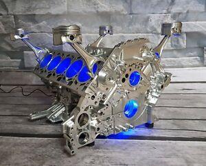 Lamborghini / Audi 5.2l R8 V10 Motortisch Tisch Motorblock Motor V8 V12