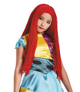 Disney NBX The Nightmare Before Christmas Sally Child Costume Wig   Disguise