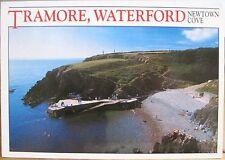 Irish Postcard TRAMORE Co WATERFORD Ireland Newtown Cove Beach Hinde 1999 4x6