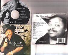 KID DYNAMITE- Im The Man CD (2000) *HAND SIGNED BLUES/SOUL*