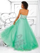 Tiffany 61103 Mint Green Prom Gown Dress sz 0 Flash SALE!! NWT