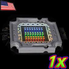 [1x] 50W RGB LED High Power - Red Green Blue - 2720 Lm 24V 1500mA 50 Watt Lamp