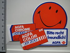 Adesivo Sticker-Agfa Foto-Agfa Chrome & COLOR-ct100 & XR 200 (1541)
