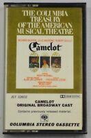 Camelot Original Broadway Cast Musical Theatre Cassette Tape Julie Andrews