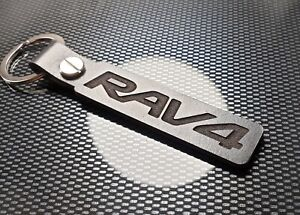 RAV4 BLACK Leather Keyring TRD Suv D-4D XT-R Hybrid Business Edition Plus 2wd
