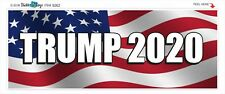 TRUMP 2020 - ELECTION POLITICAL BUMPER STICKER #9262