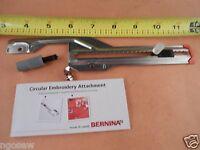 Genuine Circular Embroidery Attachment #83 BERNINA Artista 0083737000 0083737100