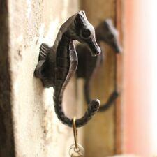 Cast Iron Seahorse Wall Hook