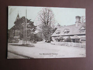 Old Woodhouse Church - ETWD vintage postcard - mailed 1906