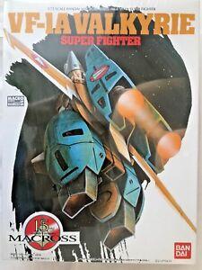 Macross VF-1A Super Fighter Valkyrie 1/72 Robotech Bandai 1990 (Vintage Kit)