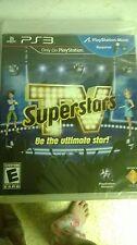 PS3 TV SUPERSTARS GAME