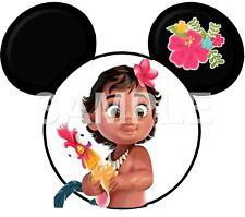Disney Moana  personalized iron on transfer (choice of 1)