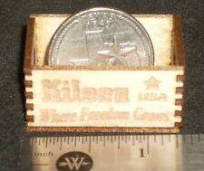 Dollhouse Miniature Killeen Produce Crate 1:12 Farm Food Market TYPO