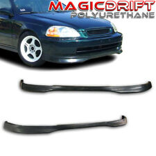 For 96-98 Honda Civic EK 3Dr Hatch Type R Front & Rear Bumper Lips Combo Kit