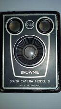 Vintage Kodak Brownie SIX-20 Camera Model D