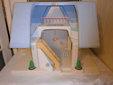 Vintage Little Tikes Large 2 Story Doll House, Blue Roof