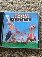 KOOKY KOUNTRY K-Tel CD Classic Great Comedy Songs LARRY VENRN FENDERMEN Rare OOP